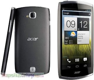 Harga ACER CloudMobile S500 Ponsel Terbaru 2012