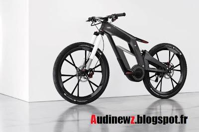 Wörthersee 2012 : L'Audi E-Bike