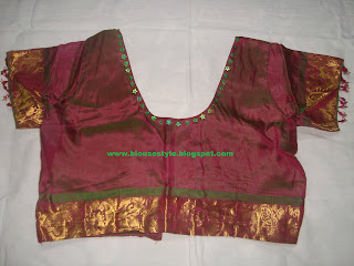 wedding stone work blouse