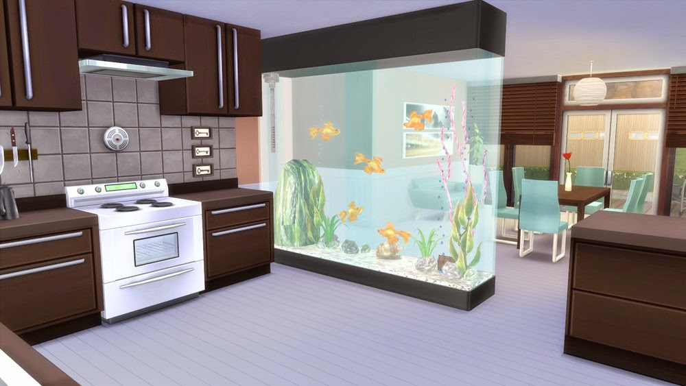 corporation simsstroy the sims 4 partition aquarium decor. Black Bedroom Furniture Sets. Home Design Ideas
