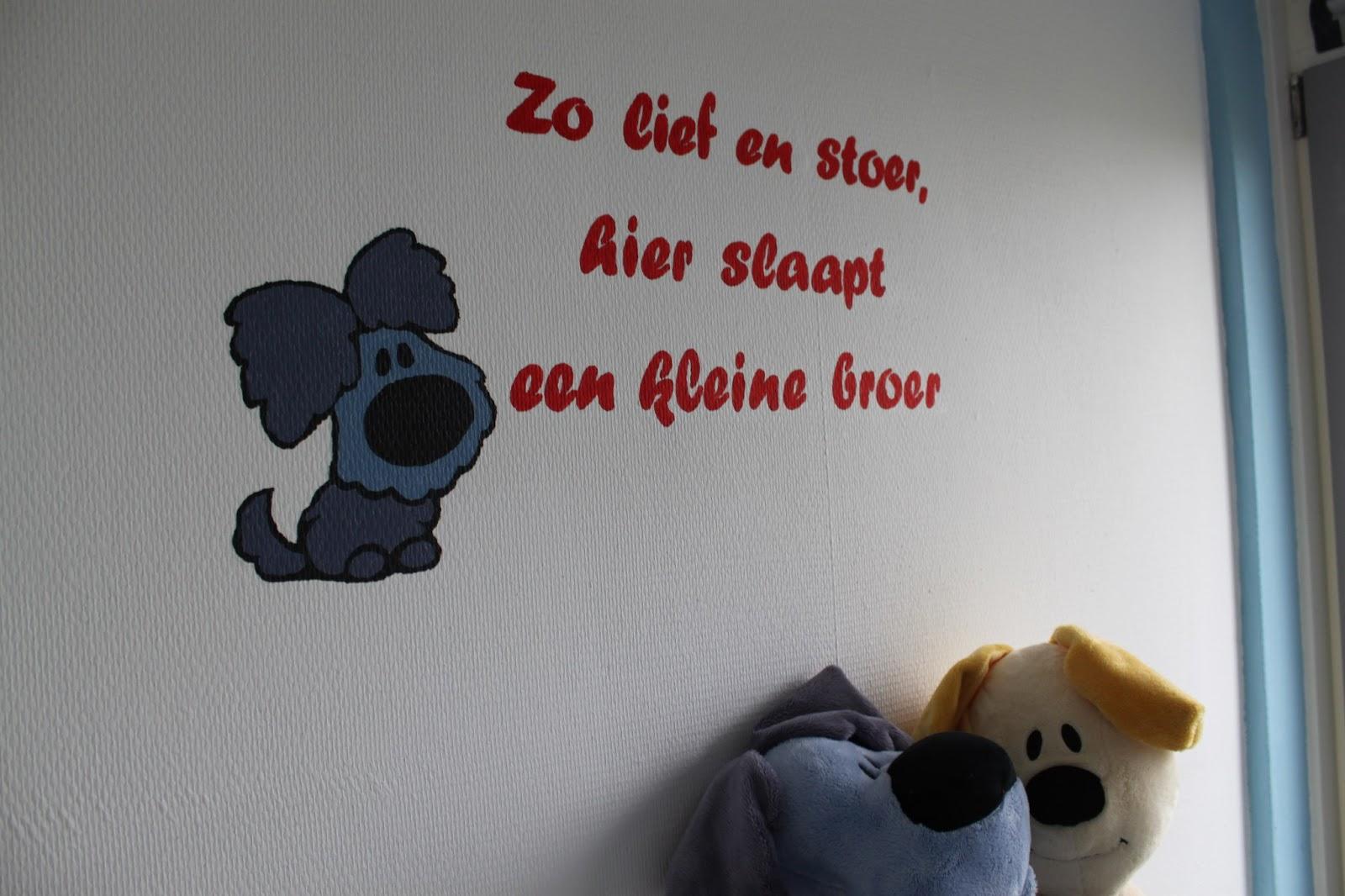 Muurschildering: Woezel ~ Elise\'s Blog