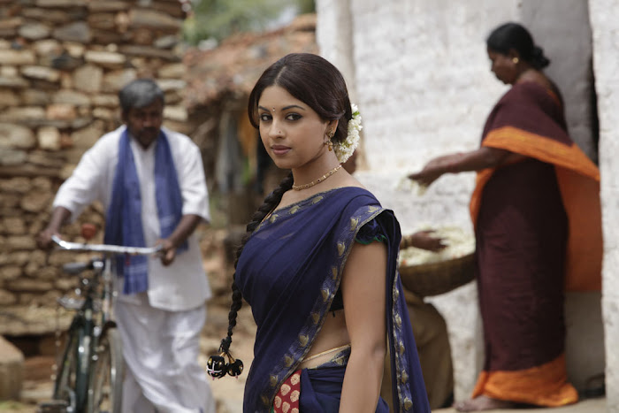 richa gangopadhyay saree from osthi movie glamour  images