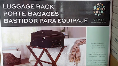 Order Organizing Systems Luggage Rack for the convenience of your guests