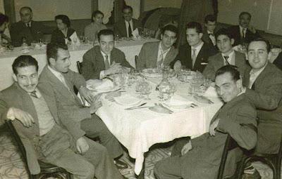 Jugadores del Club Ajedrez Barcelona en 1956
