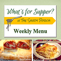 What's For Supper: Menu September 1, 2014