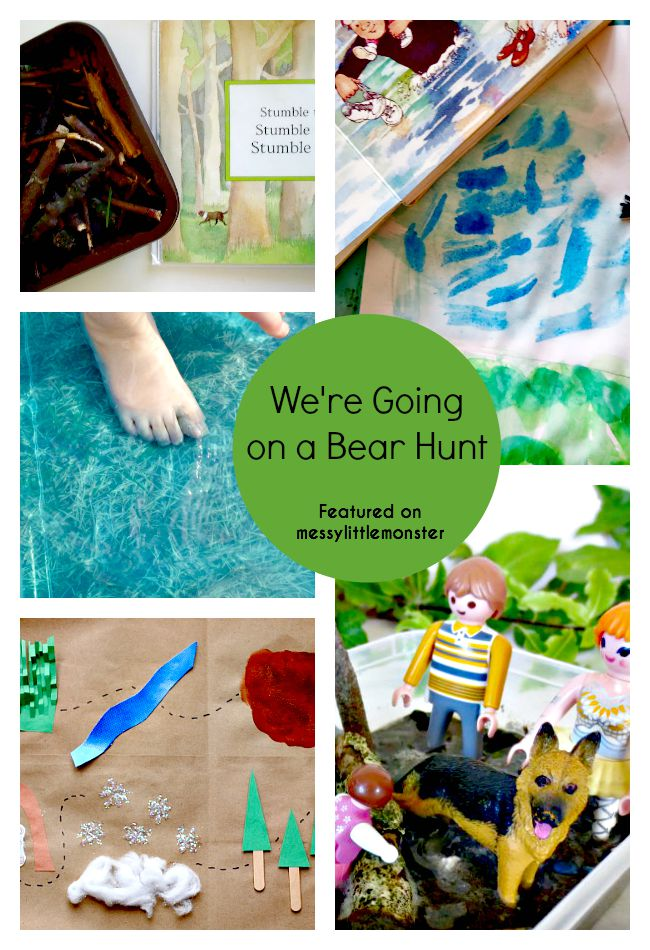 35 Bear Theme Crafts Amp Activities Messy Little Monster