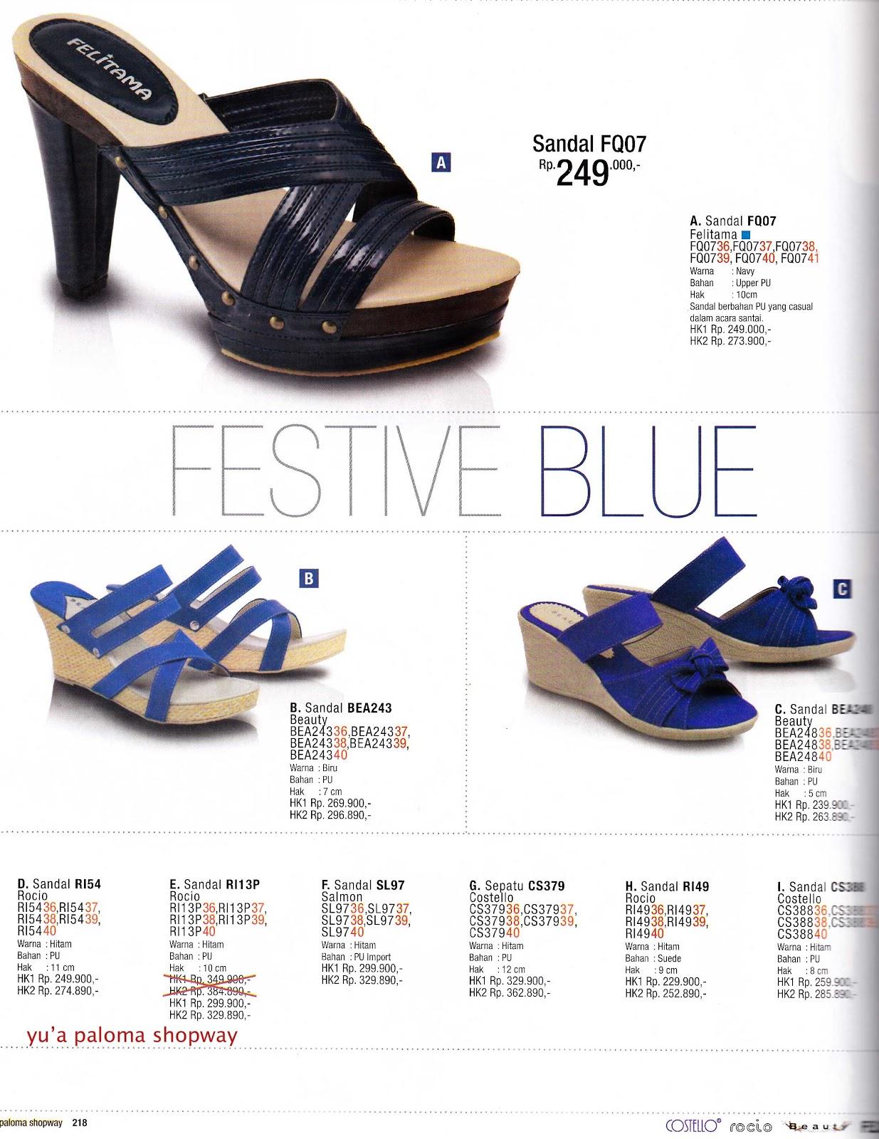 Sandal & Sepatu Wanita SALMON ROCIO COSTELLO RANDY GO GIRL SHUUZ