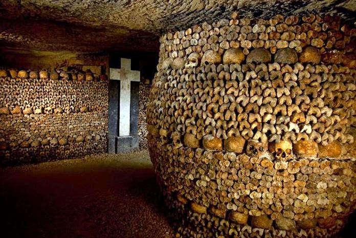hầm mộ paris pháp