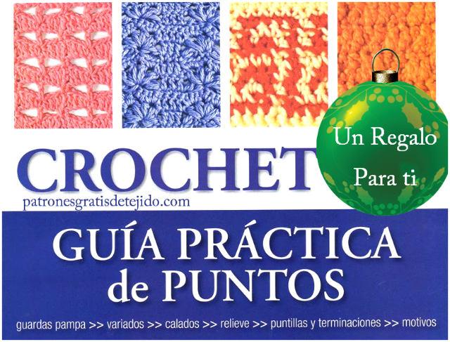 revista de puntos crochet gratis para descartar