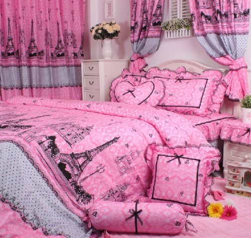 total fab paris amp eiffel tower themed bedding for less paris wall decor regarding your property