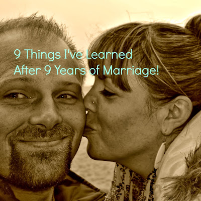 9 Things I've Learned After 9 Years of Marriage