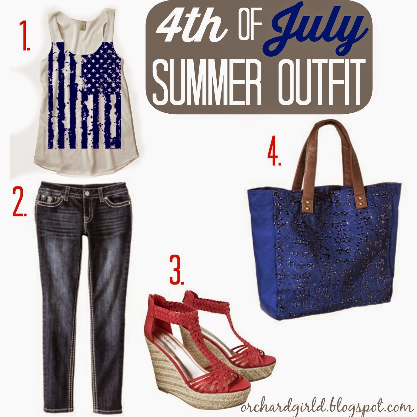 4th of July Inspiration - All Things 4th of July