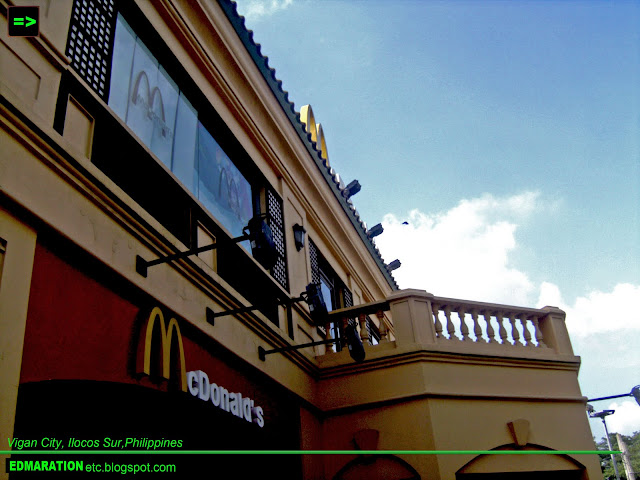 McDonald's Vigan | An Issue Behind the Charm