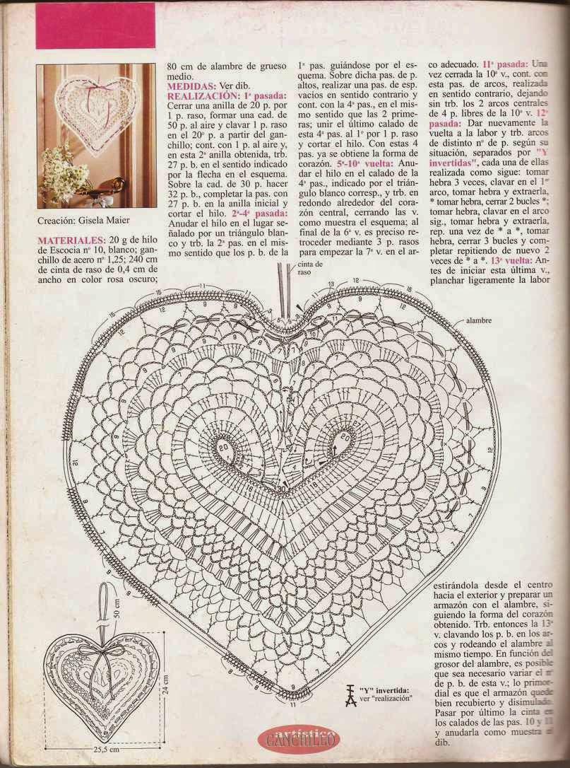 Patrón de corazón