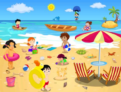 картинки летние каникулы