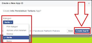 Gambar Cara Membuat App Id Facebook Untuk Website
