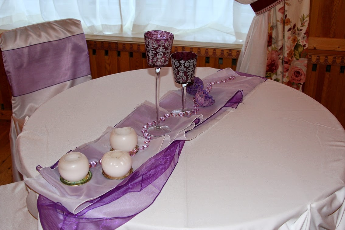 праздничный декор стола