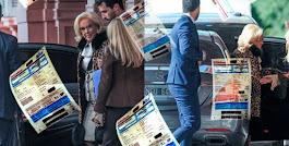 LA NOTICIA DEL DIA: MIRTHA LEGRAND FUE A CASA ROSADA CON UN AUTO QUE ADEUDA 40 MIL PESOS DE PATENTE