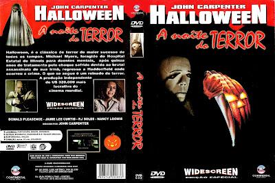 Filme Halloween A Noite do Terror DVD Capa