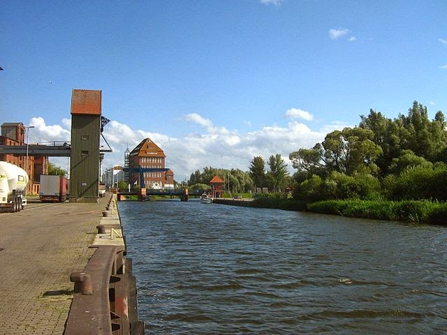 sungai Peene, Demmin, Jerman