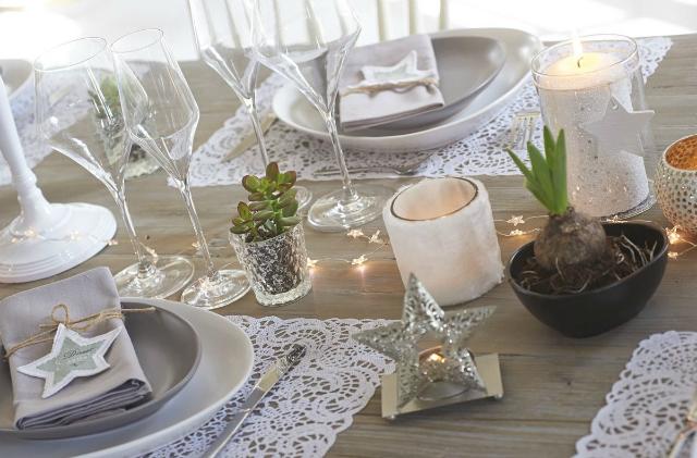 Mesa de Navidad bonita, práctica y nórdica!