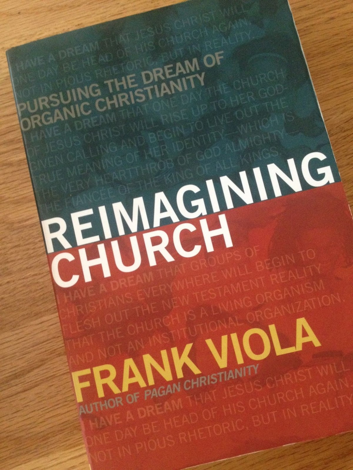 Chanchanchepon Review Reimagining Church By Frank Viola border=
