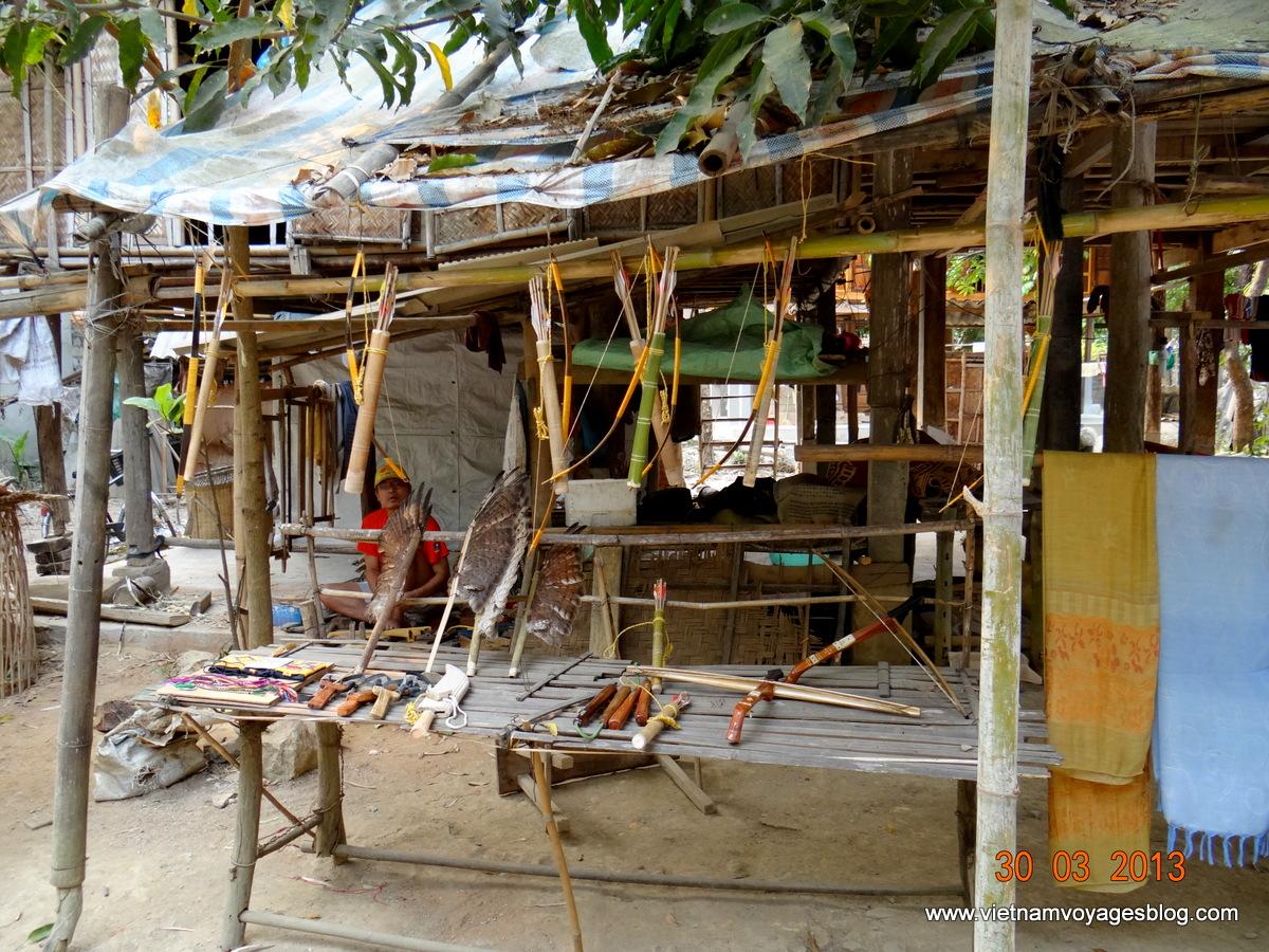 Tham quan du lịch bản người thái Pom Coong ở Mai Châu