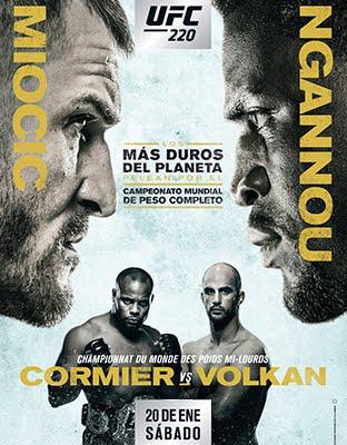 Ver UFC 220 Miocic vs Ngannou En VIVO