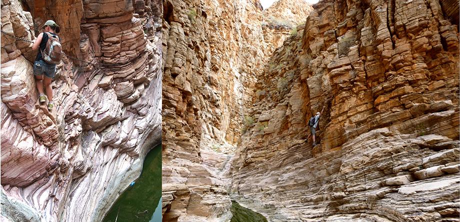 Ynas Reise Blog | Klettern in den Tirasbergen in Namibia