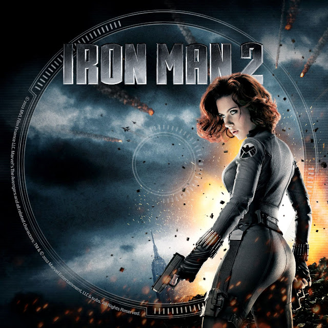 Label DVD/Bluray Iron Man 2