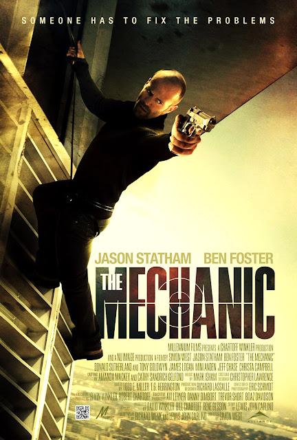 Jason Statham Mechanic Movie Poster