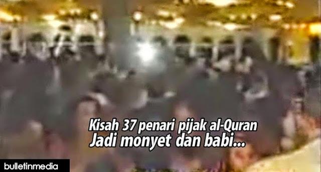 Mengejutkan!.37 Penari Wanita Memijak Dan Menari di atas Al-Quran Jadi Monyet Dan Babi