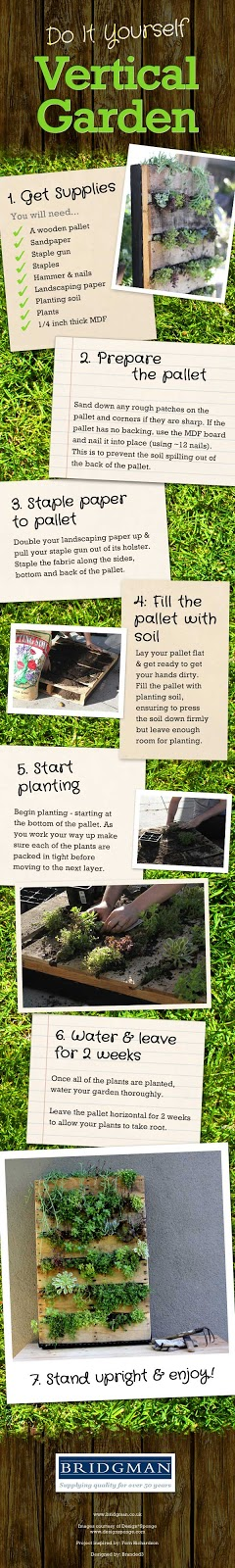 Jard n vertical con palets reciclado jardines verticales for Jardin vertical reciclado