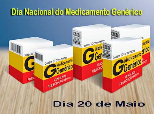 20 De Maio Dia Nacional do Medicamento Genérico