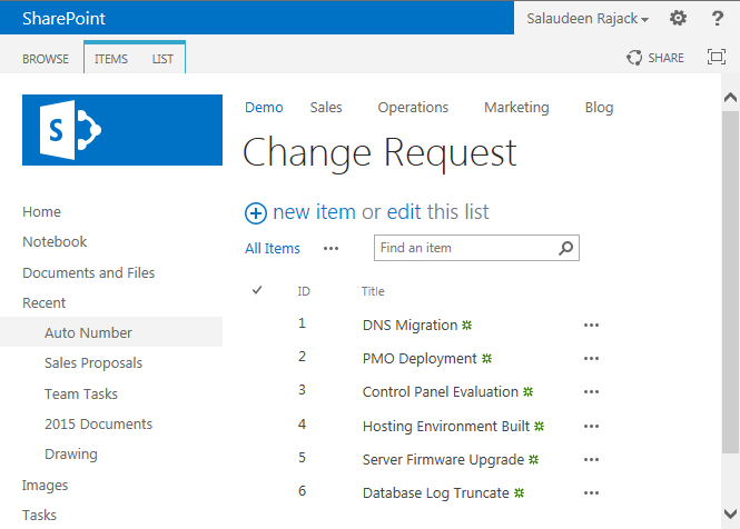 how to rename id column in sharepoint list sharepoint diary