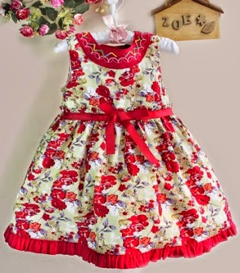 RM35 - Dress Zoe Flower