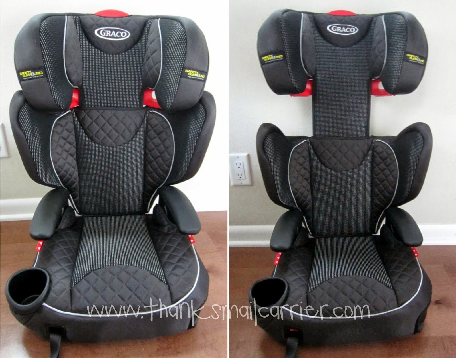 booster adjustable headrest