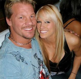WWE Chris Jericho Wife Good Mood