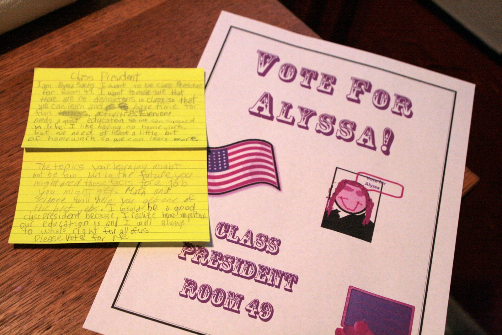 second grade class president election speech My speech class public speaking tips & speech  election speech or student council campaign  when you write a speech for student council president or.