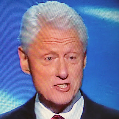 Bill Clinton Spitting Lies