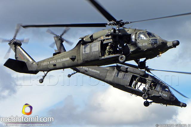 simulador black hawk colombia fuerza aerea