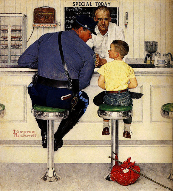 the contribution of norman rockwell in america Amazoncom: norman rockwell: an american portrait: emma bombeck,  mason adams, norman rockwell, view video: movies & tv.