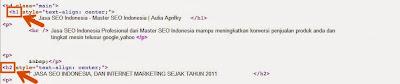 kata kunci tag h1 dan h2 jasa seo indonesia
