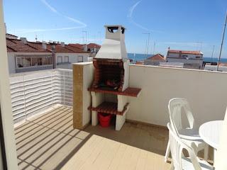 Nazaré - Alugo apartamento T2 - terraço