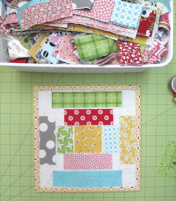 From my Quilty Studio...How I Save My Fabric Scraps...and All About Bonus Quilts!!!