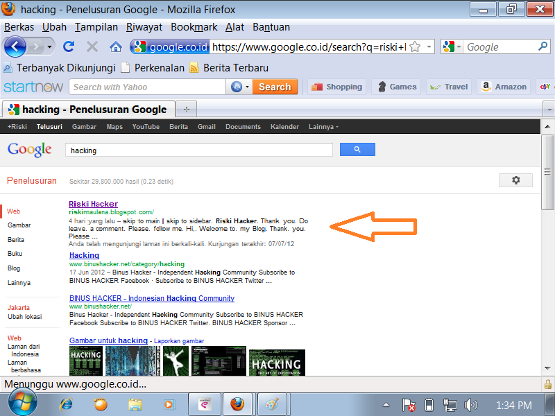 di mesin pencari google cara mempublikasikan blog agar jadi nomor 1 di ...