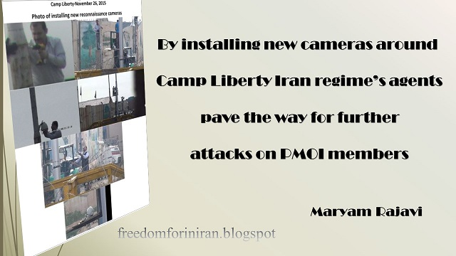 Iran regime's agents pave the way for further  attacks on PMOI members in Camp Liberty