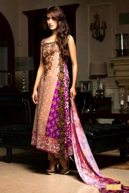 Shariq Textile Bella Designer Embroidered Collection 2013