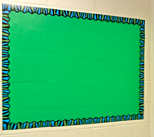 contact paper to refresh bulletin board