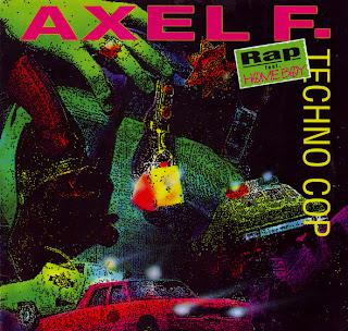 Techno Cop Feat. Homeboy - Axel F. Rap (Maxi Single Vinyl 12'' 1992) Front